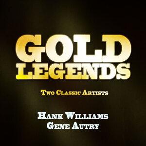 Gene Autry|Hank Williams 歌手頭像
