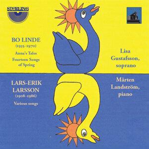Lisa Gustafsson, Mårten Landström 歌手頭像