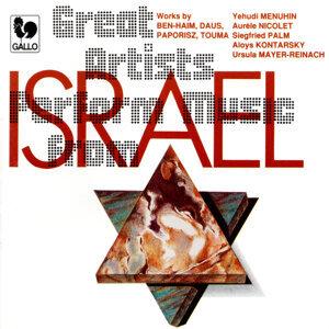 Yehudi Menuhin, Siegfried Palm, Paul Ben-Haim 歌手頭像