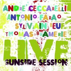 André Ceccarelli, Antonio Farao, Sylvain Beuf, Thomas Bramerie 歌手頭像
