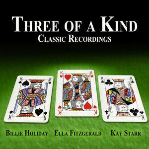 Billie Holiday|Ella Fitzgerald|Kay Starr 歌手頭像