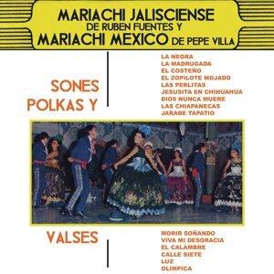 Mariachi Jalisciense de Rubén Fuentes y Mariachi México de Pepe Villa 歌手頭像