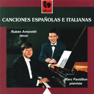 Rubén Amoretti, Marc Pantillon 歌手頭像