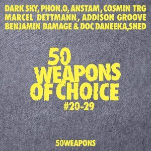 50 Weapons of Choice # 20-29 歌手頭像