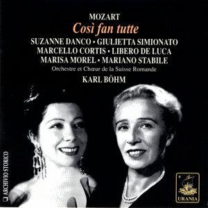 Suzanne Danco| Giulietta Simionato| Mariano Stabile 歌手頭像