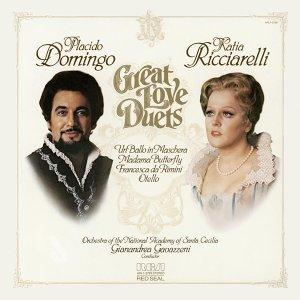 Plácido Domingo& Kaita Ricciarellio (多明哥【男高音】查蕾麗【女高音】) 歌手頭像
