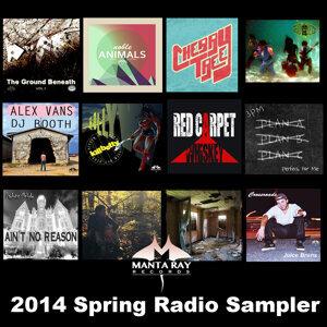 2014 Spring Radio Sampler 歌手頭像