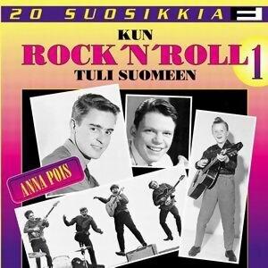 20 Suosikkia / Kun Rock'n' Roll tuli Suomeen / Anna pois 歌手頭像