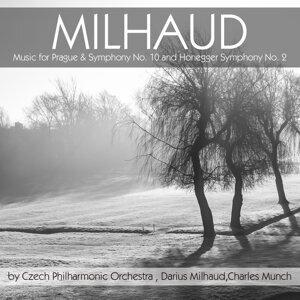Czech Philharmonic Orchestra, Darius Milhaud, Charles Munch 歌手頭像