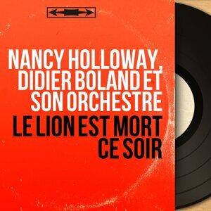 Nancy Holloway, Didier Boland et son orchestre 歌手頭像