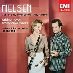 Sabine Meyer/Emmanuel Pahud/Sir Simon Rattle/Berlin Philharmonic Orchestra アーティスト写真