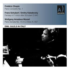 Orchestra Sinfonica di Milano della Rai, Emil Gilels 歌手頭像