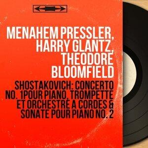 Menahem Pressler, Harry Glantz, Theodore Bloomfield 歌手頭像