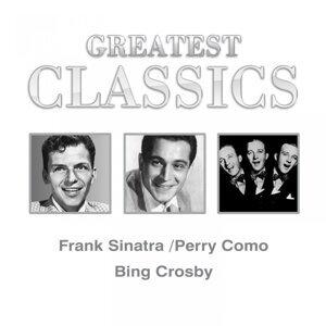 Frank Sinatra, Perry Como, Bing Crosby 歌手頭像