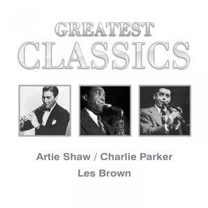 Artie Shaw, Charlie Parker, Les Brown 歌手頭像