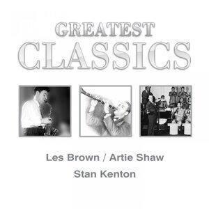 Les Brown, Artie Shaw, Stan Kenton 歌手頭像