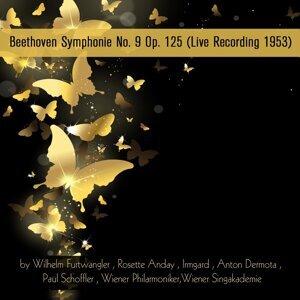 Wiener Singakademie, Wilhelm Furtwangler, Rosette Anday 歌手頭像