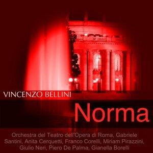 Orchestra del Teatro dell'Opera di Roma, Gabriele Santini, Anita Cerquetti, Franco Corelli 歌手頭像