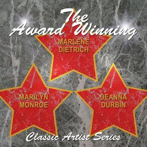Deanna Durbin|Marilyn Monroe|Marlene Dietrich 歌手頭像