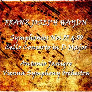 Antonio Janigro & Vienna Symphony Orchestra 歌手頭像