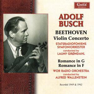 Adolf Busch, Statsradiofoniens Symfoniorkester, Wor Radio Orchestra 歌手頭像