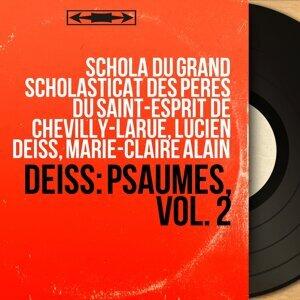 Schola du Grand Scholasticat des Pères du Saint-Esprit de Chevilly-Larue, Lucien Deiss, Marie-Claire Alain 歌手頭像