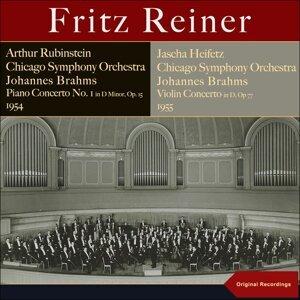 Chicago Symphony Orchestra, Fritz Reiner, Artur Rubinstein, Jascha Heifetz 歌手頭像