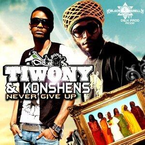 Tiwony, Konshens 歌手頭像