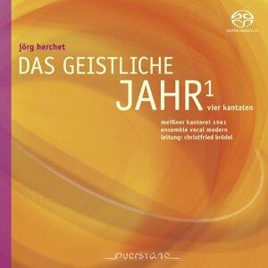 Christfried Brödel, Ensemble Vocal Modern, Meissner Kantorei 1961 歌手頭像