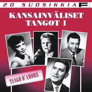20 suosikkia / Kansainvaliset tangot / Tango D'Amore 歌手頭像