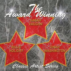 Billie Holiday|Dinah Washington|Sarah Vaughan 歌手頭像