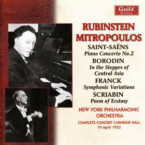 Arthur Rubinstein, New York Philharmonic Orchestra, Dimitri Mitropoulos 歌手頭像