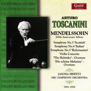 NBC Symphony Orchestra, Jascha Heifetz, Edna Philips 歌手頭像