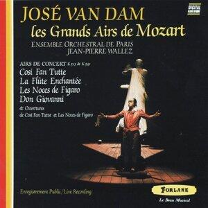 Ensemble orchestral de Paris, Jean-Pierre Wallez, José Van Dam 歌手頭像