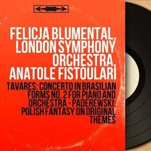 Felicja Blumental, London Symphony Orchestra, Anatole Fistoulari 歌手頭像