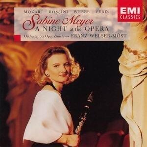 Sabine Meyer/Orchester der Oper Zurich/Franz Welser-Most 歌手頭像