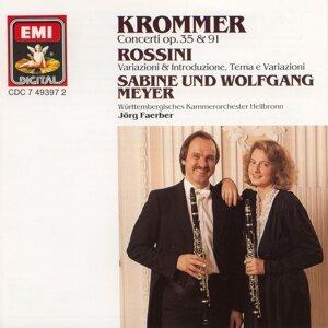 Sabine Meyer/Wolfgang Meyer/Wurttembergisches Kammerorchester Heilbronn/Jorg Faerber 歌手頭像