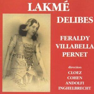 Orchestre de l'Opéra-Comique, Gustave Cloëz, Germaine Feraldy, Miguel Villabella 歌手頭像