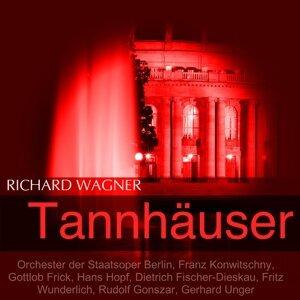 Orchester der Staatsoper Berlin, Franz Konwitschny, Gottlob Frick, Hans Hopf 歌手頭像