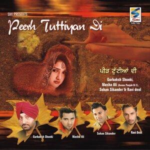 Gurbakhash Saunki, Masha Ali, Ravi Deol, Sohan Sikander 歌手頭像