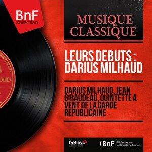 Darius Milhaud, Jean Giraudeau, Quintette à vent de la Garde républicaine 歌手頭像