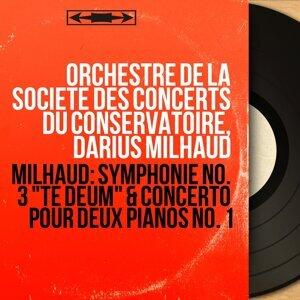 Orchestre de la Société des concerts du Conservatoire, Darius Milhaud 歌手頭像