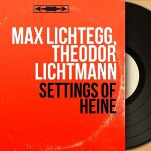 Max Lichtegg, Theodor Lichtmann 歌手頭像