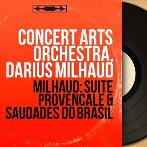 Concert Arts Orchestra, Darius Milhaud 歌手頭像