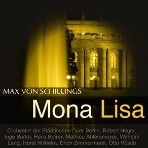 Orchester der Städtischen Oper Berlin, Robert Heger, Inge Borkh, Hans Beirer 歌手頭像