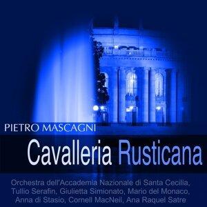 Orchestra dell'Accademia Nazionale di Santa Cecilia, Tullio Serafin, Giulietta Simionato, Mario del Monaco 歌手頭像