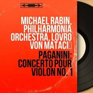 Michael Rabin, Philharmonia Orchestra, Lovro von Matačić 歌手頭像