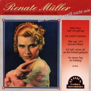 Renate Müller 歌手頭像