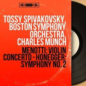Tossy Spivakovsky, Boston Symphony Orchestra, Charles Munch 歌手頭像