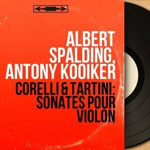 Albert Spalding, Antony Kooiker 歌手頭像